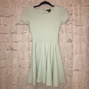 H&M NWOT Seafoam Green Fit and Flare Dress