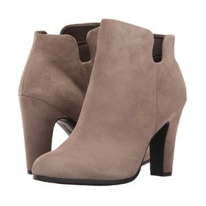 NEW! Sam Edelman Putty Suede Shelby Booties
