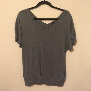 Express Short Sleeved Sweater