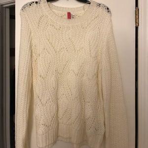 H&M comfy cream sweater