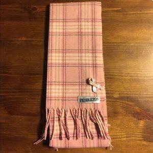 BRAND NEW Pendleton Wool Pink Winter SCARF