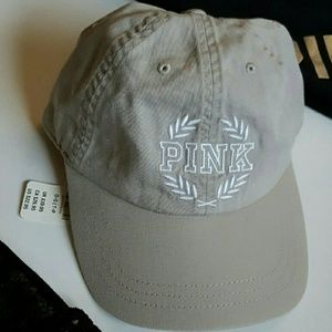 New! PINK baseball hat | cream