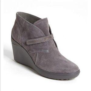 Tsubo secadi wedge boot gray 6.5