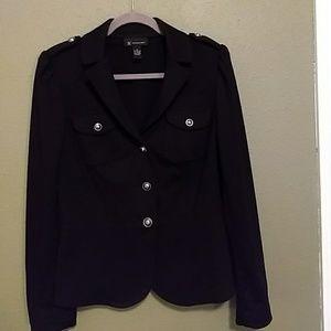 Black INC Military Style Blazer