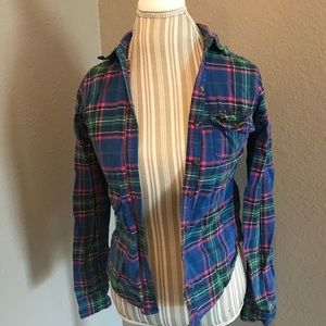 Abercrombie and Fitch women's flannel