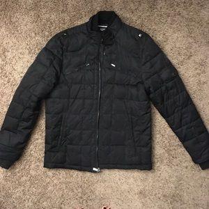 Apt 9 Men's black puffer winter coat