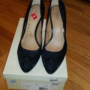 Women's high heels.
