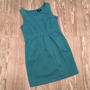Mossimo 16 Teal Sheath Pocket Dress