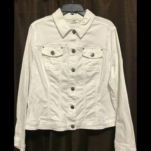 White Jean jacket
