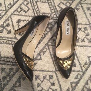 Steve Madden patent leather heels