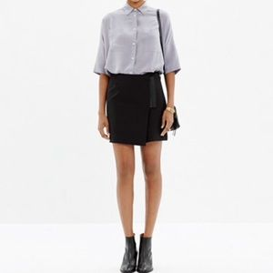 Madewell Ignition Zipper Stretchy Skirt