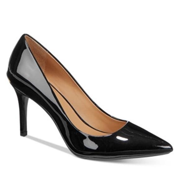Calvin Klein Gayle Black Patent Leather