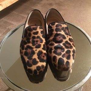 J. CREW COLLECTION Georgie Loafers in Leopard