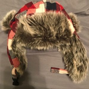 Plaid lumberjack hat