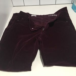 Gap legging jean cords