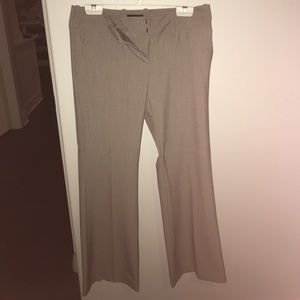 The Limited tan dress pants. Drew Fit. Size 6