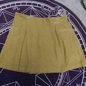 NWT Old Navy Size 12 Corduroy Mini Skirt