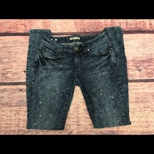 CAbi Jeans Constellation Wash Skinny Jeans Size 0