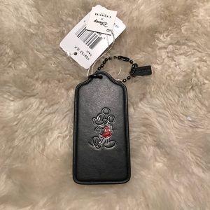 Coach Disney x Mickey keychain