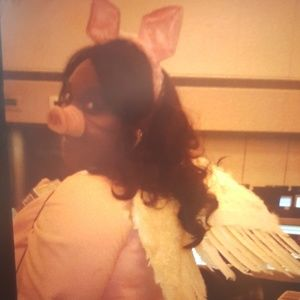 When Pigs Fly Ears, Nose and Wings Costume