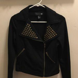 Studded Moto Jacket