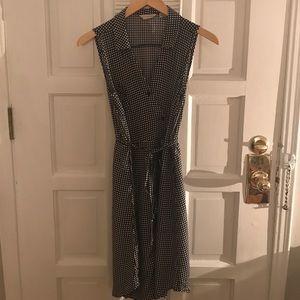 Gingham Shirt Dress