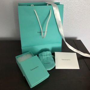 Authentic Tiffany box - full set
