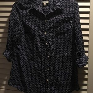 collared button up shirt