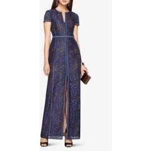 Bcbg Maxazria Cailean Short Sleeve Lace Dress Navy