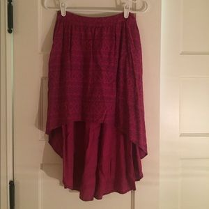 Aztec High-Low Skirt by Target