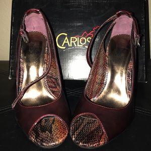 Red wine heels 👠 🍷