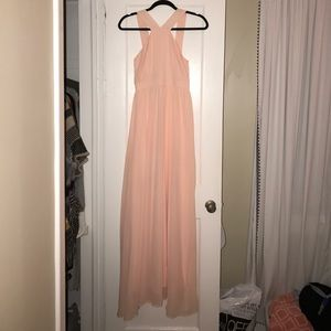 Lulus Peach Maxi Dress