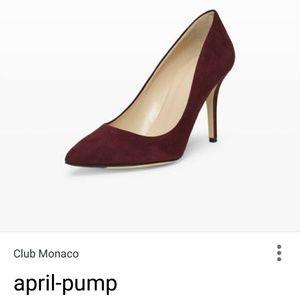 LN CLUB MONACO APRIL PUMP SUEDE