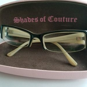 Juicy Couture eye glasses
