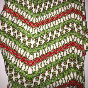 Lularoe Kermit the frog TC Leggings