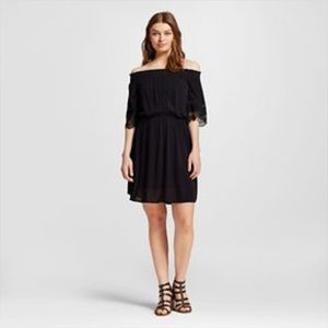 Dresses & Skirts - Black off shoulder dress