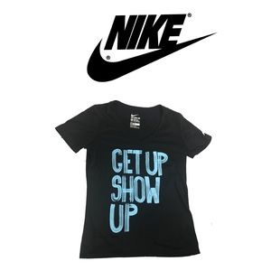 Nike Get Up Show Up T-shirt Sz M