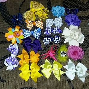 Other - 22 Assorted New Hairbows