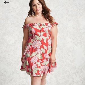 Forever21 plus floral dress
