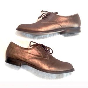❣BOGO 1/2 off❣BR bronze oxford leather loafers
