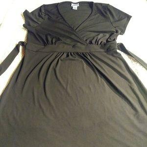 Maternity black dress