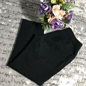 Kate Spade Saturday Black Cropped Pants Size 8