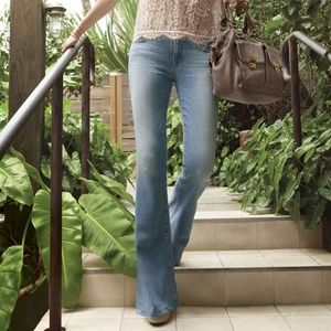 J Brand 'Bette' Flare Leg Jeans in Icicle Wash