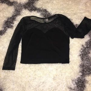 H&M cropped top