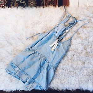 [Nwt] Lovestitch Denim Tank