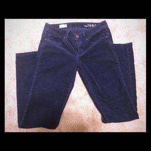 GAP 1969 Real Straight Navy Pants Size 26 2/4