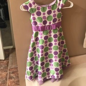 Easter/spring Beautiful girls dress