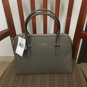 *Taking Offers* NWT Kate Spade Gray Maise Satchel