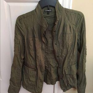 Express Military jacket XS