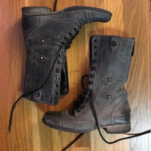 COMBAT-STYLE ZIP-UP BOOTS